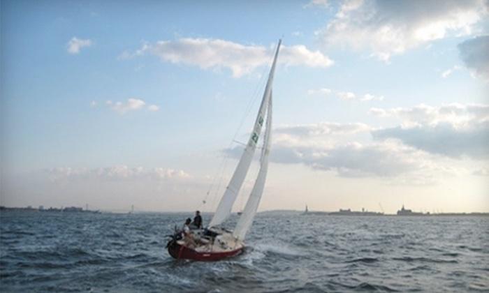 Hudson River Community Sailing - Chelsea: $79 for a Two-Hour Sailing Lesson from Hudson River Community Sailing ($180 Value)