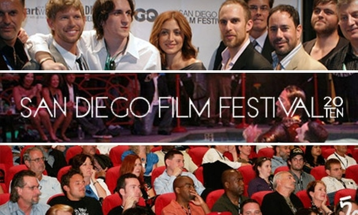 San Diego Film Festival - Gaslamp: $29 for a Festival Screening Pass ($65 Value) or $19 for a Friday Day Pass ($45 Value) to the San Diego Film Festival