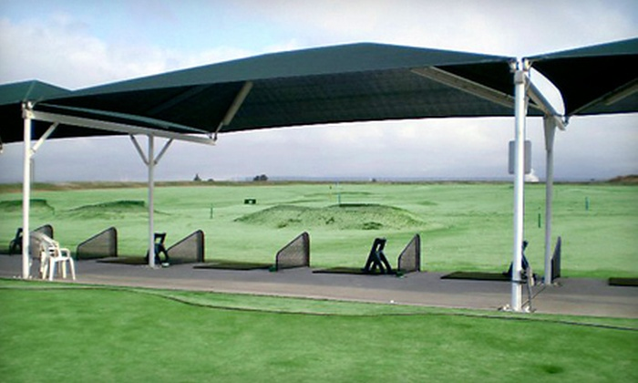 John Wells Golf Driving Range - Sun Valley: $10 for Two Large Buckets of Practice Balls at John Wells Golf Driving Range in North Hollywood ($20 Value)