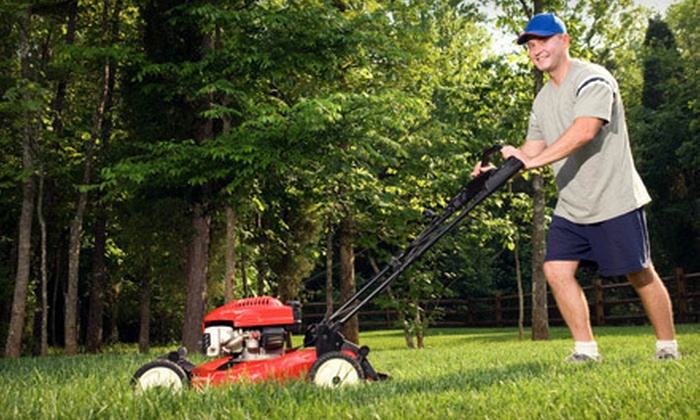 Frank's Lawn Care - Park: Up to Two Hours of Yard Maintenance or Four, Six, or Eight Weeks of Lawn Mowing from Frank's Lawn Care (Up to 63% Off)