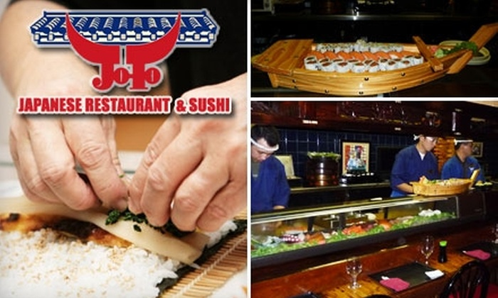 Joto Japanese Restaurant - Grey Gables/Bon Air: $12 for $25 Worth of Japanese Cuisine and Drinks at Joto Japanese Restaurant