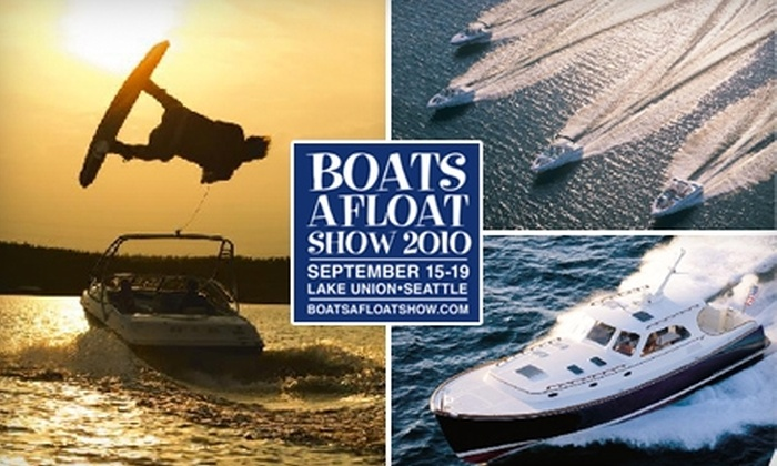 Lake Union Boats Afloat Show - South-Lake Union: $9 for a Three-Day Pass to the Lake Union Boats Afloat Show Sept. 15–19 ($18 Value)