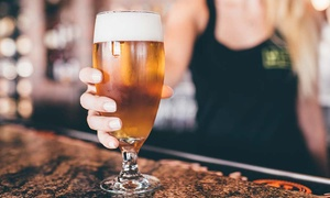 World of Beer: $18 for $30 Worth of Craft Beer and Food at World of Beer