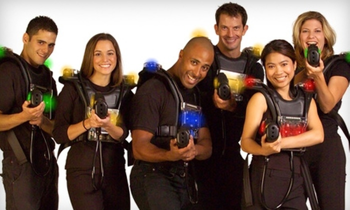 Lehigh Valley Laser Tag - Allentown / Reading: $17 for Two Laser-Tag Sessions at Lehigh Valley Laser Tag ($34 Value)