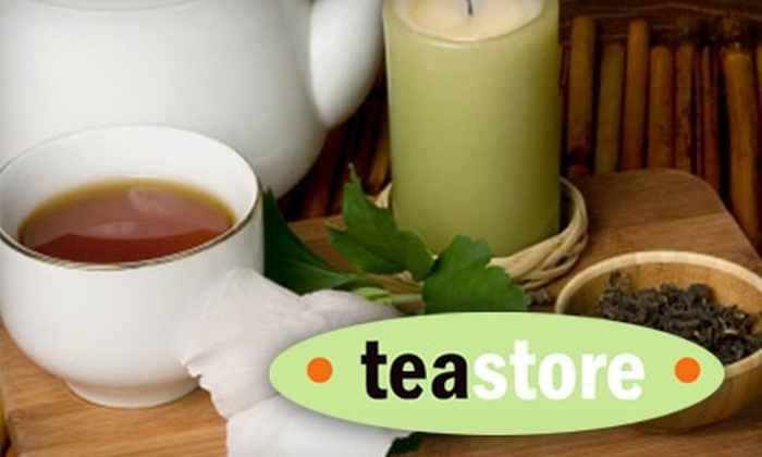 Teastore - Ottawa: $5 for $10 Worth of Brewed Tea, Tea Bags, Leaves, and Accessories at the Teastore