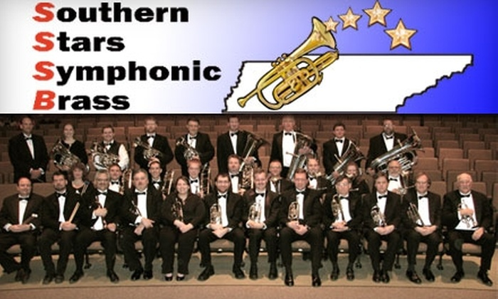 Southern Stars Symphonic Brass - Knoxville: $9 for One Adult Ticket to Southern Stars Symphonic Brass on Sunday, September 26