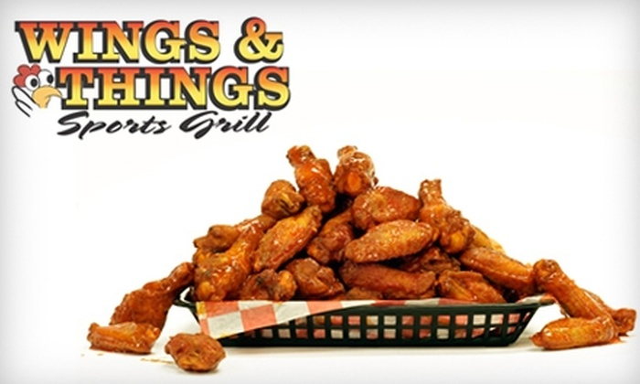 Wings & Things Sports Grill - Amarillo: $7 for $15 Worth of Chicken and More at Wings & Things Sports Grill