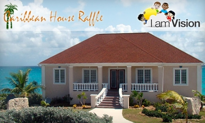 Caribbean House Raffle: $15 for One Raffle Ticket Entry to Win a Caribbean Home and More, With Partial Proceeds Benefitting I Am Vision ($30 Value)