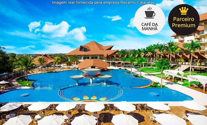 Foz do Iguaçu: até 7 noites para 2 com feriados no Recanto Cataratas Thermas Resort. Digite SALDAO e ganhe + 10% off
