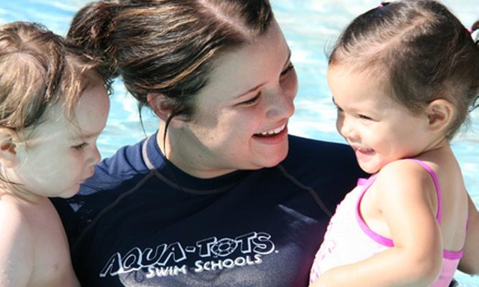 Aqua-Tots Swim School - Multiple Locations: $29 for One Month of Weekly Children's Swim Lessons at Aqua-Tots Swim School (Up to $70 Value)