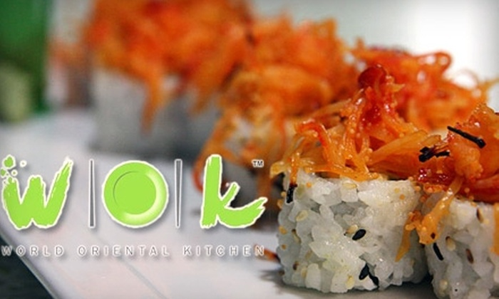 World Oriental Kitchen - Downtown: $8 for $16 Worth of Organic Fusion Fare at World Oriental Kitchen