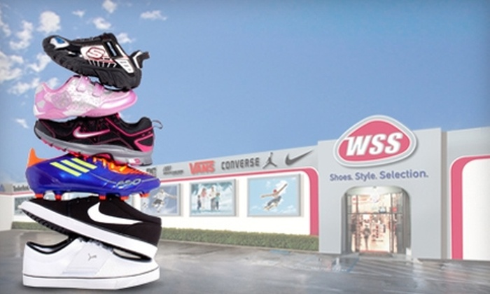 WSS - Multiple Locations: $20 for $40 Worth of Shoes, Apparel, and Accessories at WSS