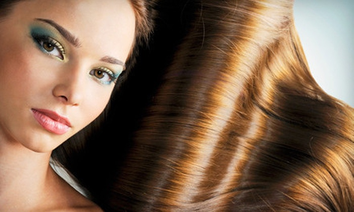 Mint Salon - Midtown: Haircut with Conditioning and Optional Partial Highlights, Color, or Full Highlights at Mint Salon (Up to 72% Off)