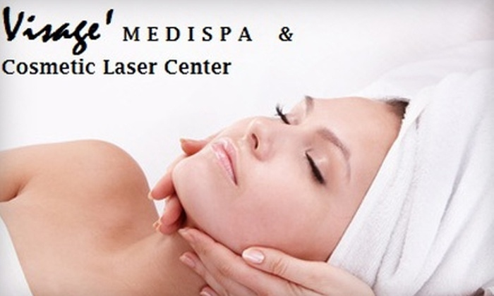 Visage Skincare Spa and Cosmetic Laser Center - Farmingville: $57 for Microdermabrasion and Mask or Hot Stone Facial at Visage Skincare Spa and Cosmetic Laser Center in Farmingville (Up to $180 Value)