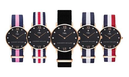 Montre Twig Klee Femme Bracelet Nato Interchangeable Coloris Au Choix à 29 90