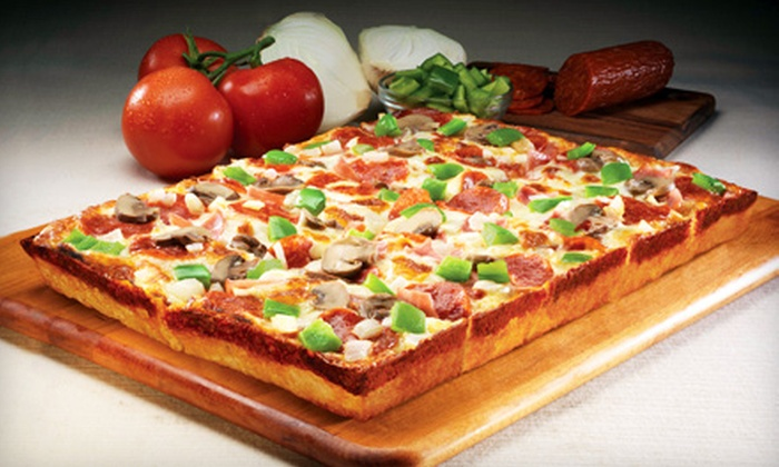 Jet's Pizza - Rochester: $10 for $20 Worth of Pizza, Breadsticks, and More at Jet's Pizza in Rochester Hills