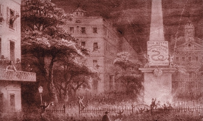 The Savannah Walks - Historic District - North: $8 for One Adult Ticket to Historic Pub or Ghost Tour with The Savannah Walks (Up to $16 Value)