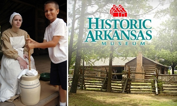 Historic Arkansas Museum - Downtown: $15 for a One-Year Individual Membership to the Historic Arkansas Museum ($35 Value)