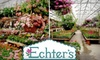 Echter's Nursery & Garden Center - I-70 Corridor: $15 for $30 Worth of Plants and Goods at Echter's Nursery & Garden Center