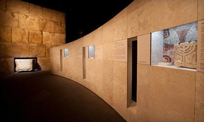 """""""Dead Sea Scrolls"""" Exhibit - Theater District - Times Square: Museum Outing for Child or Adult to """"Dead Sea Scrolls"""" Exhibit at Discovery Times Square (Up to 51% Off)"""