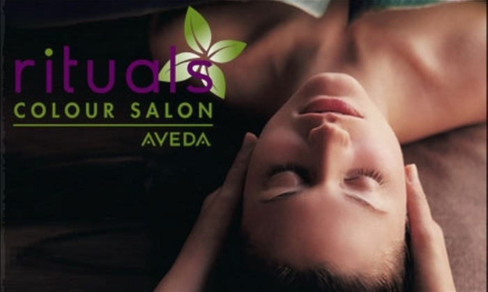 Rituals Colour Salon - Stevenson Ranch: $49 for an Elemental Nature Facial, Chakra Balancing Massage, and a $20 Voucher for Aveda Skincare Products at Rituals Colour Salon ($100 Value)