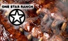 One Star Ranch Alpharetta - Alpharetta: $15 for $30 Worth of Barbecue and Drinks at One Star Ranch