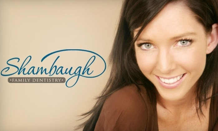 Shambaugh Family Dentistry - Fort Wayne: $75 for a Consultation and Teeth Whitening Treatment ($350 Value) or $149 for a Zoom! Whitening Treatment ($475 Value) at Shambaugh Family Dentistry