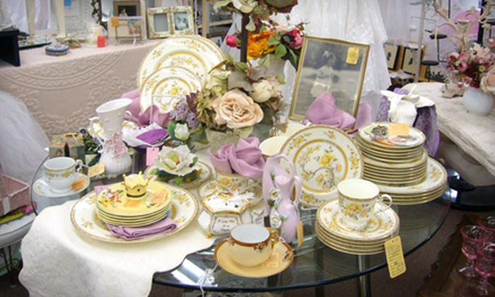 The Red Geranium - North Royalton: $15 for $35 Worth of Vintage and Antique Goods at The Red Geranium in North Royalton