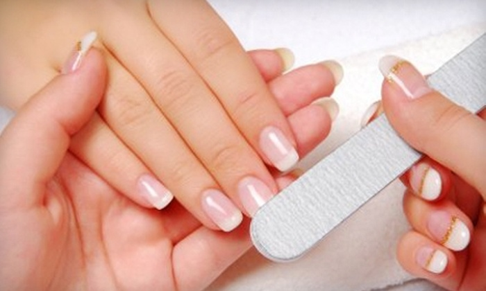 Nails By Roza - Beachwood: $22 for a Shellac Manicure at Nails By Roza in Beachwood ($45 Value)