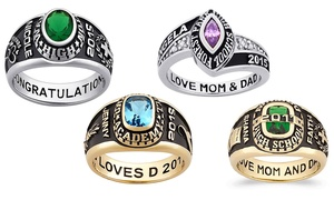 Customized Women's Class Ring (Up to 55% Off)