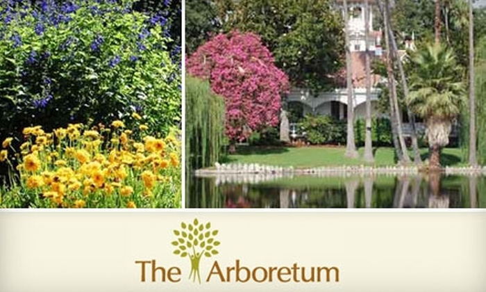 Los Angeles County Arboretum And Botanic Garden Arcadia 35 For A Family Membership To