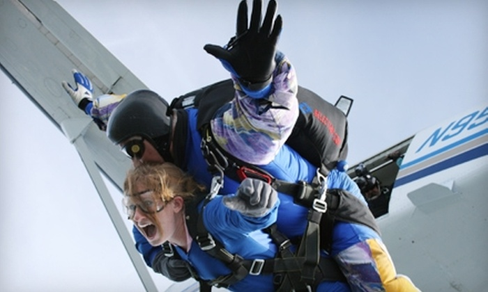 Start Skydiving - Middletown: $119 Tandem Jump with Start Skydiving in Middletown (Up to $259 Value)