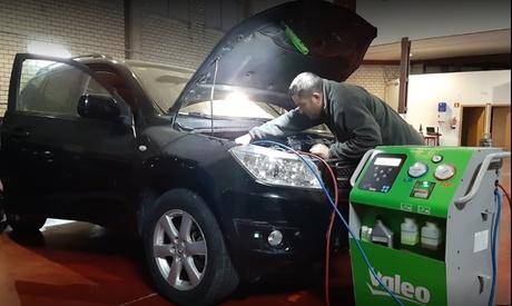 Cambio de aceite y filtro/s con opción a lavado y diagnóstico electrónico en Mecánica Guzmán