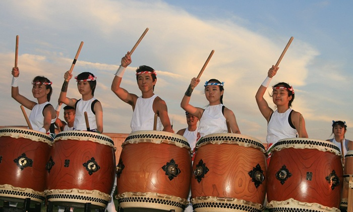 Black Ships Festival Taiko Drum Concert - Cardines Field: Taiko Drum Concert for Two or Four at Black Ships Festival at Cardines Field on July 19 at Noon (Up to 50% Off)