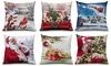 """Festive Christmas Decorative 16""""x16"""" Throw Pillows"""