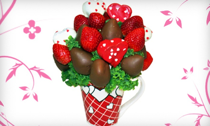Fruitful Expressions - Lower Sackville: $20 for a Heart's Desire Dessert Bouquet at Fruitful Expressions ($40 Value)