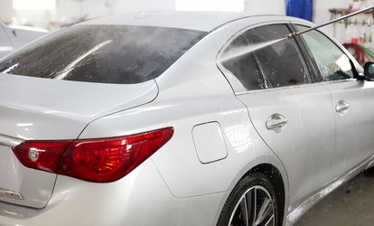 Hand Wax for Sedan or Headlight Restoration with Exterior <strong>Wash</strong> at High Street Car <strong>Wash</strong> (Up to 55% Off)