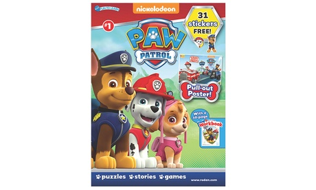 Paw Patrol Magazine Subscription for Six Months, One Year, or Two Years (Up to 45%) c85e105a-2438-4766-ac3a-6648f9ec0397