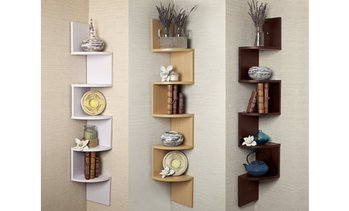 Large Corner Wall Shelf