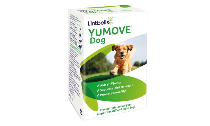 YuMOVE 60 or 180 Dogs' Supplement Tablets for Joints From £13.99
