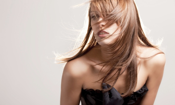 Halo Salon & Color Lab - Fort Worth: Haircut and Coloring Packages at Halo Salon & Color Lab (Up to 77% Off). Five Options Available.
