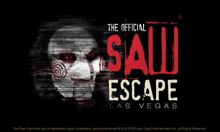 Admission to The Official SAW Escape (Up to 27% Off). Six Options Available; Valid September 1 - September 30.