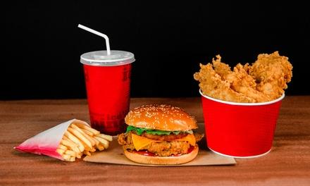 Paga 4 € por un descuento de hasta 20 € en tu pedido online de comida a domicilio de Resto in o KFC