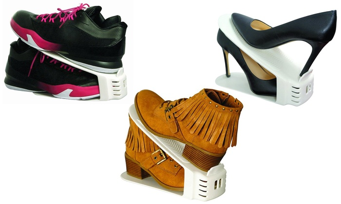 Up To 51 Off On Shoe Slotz Storage Units Groupon Goods