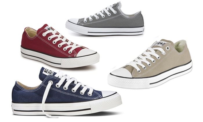 4a5506d6171 Converse All Stars - laag model | Groupon Goods