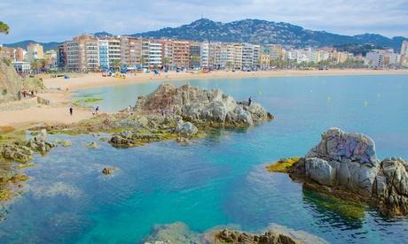 Lloret de Mar: apartamento con vistas al mar para 4 personas en Apartaments Els Llorers