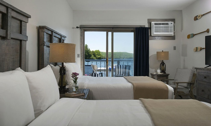 Lake bomoseen lodge in castleton vt livingsocial escapes for Livingsocial x room