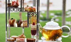 Mashrabiya Lounge: Afternoon Tea for Up to Four at Mashrabiya Lounge, Fairmont The Palm