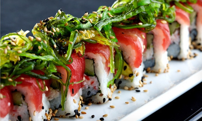RAW: Sushi & Sake Lounge - Center City,Middle City East,South Street: $20 for $40 Worth of Sushi and Japanese Food at Raw: Sushi & Sake Lounge