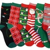 Refael Collection Women's Christmas Crew Socks (6-Pack)